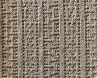 Фото узор рельефный №1657 спицами