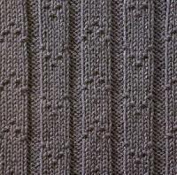 Фото узор рельефный №1658 спицами