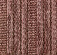 Фото узор рельефный №1660 спицами