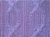 Фото плотный узор №3741 спицами