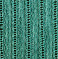 Фото узор ажурный №1652 спицами
