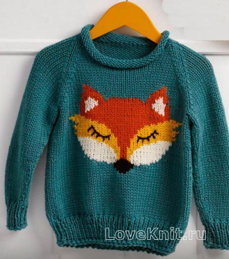Схема вязки детского свитера фото 653