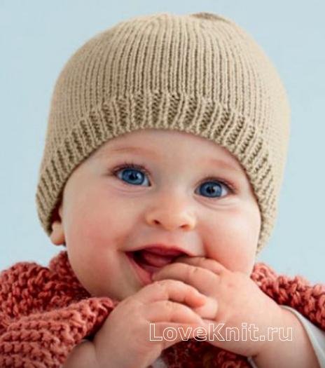 Как связать  шапочка и пинетки для малыша