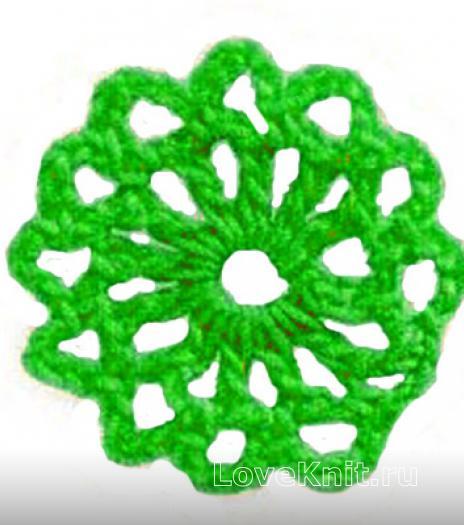 Фото круговое вязание №3842 крючком