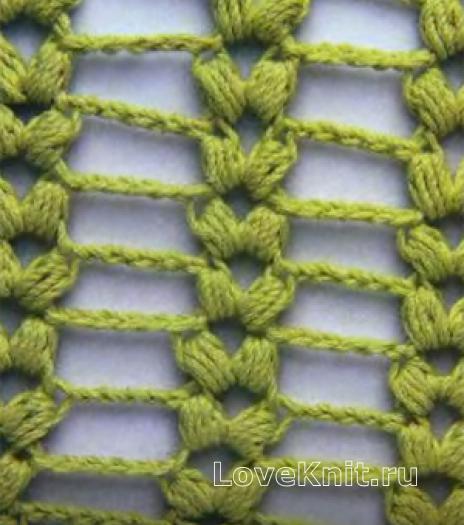 Фото плетеный узор №4084 крючком