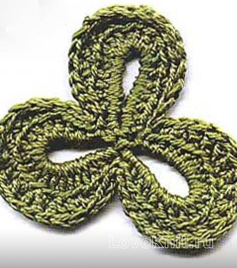 Фото ирландское кружево узор №4293 крючком