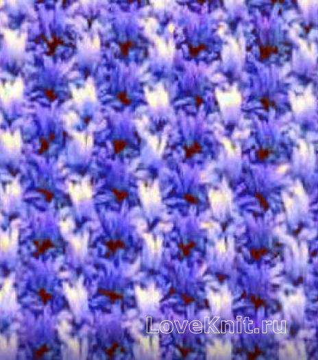 Фото цветной узор №3896 крючком