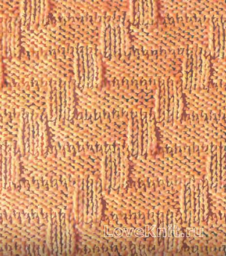 Фото простой узор №3487 спицами
