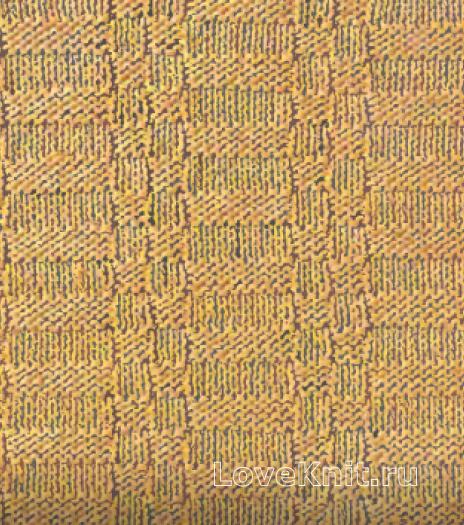 Фото объемный узор №3494 спицами