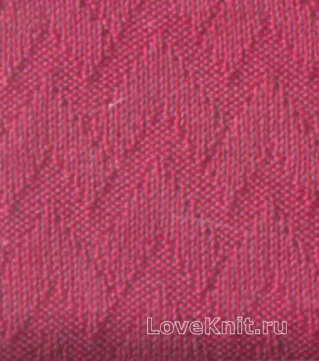 Фото объемный узор №3496 спицами