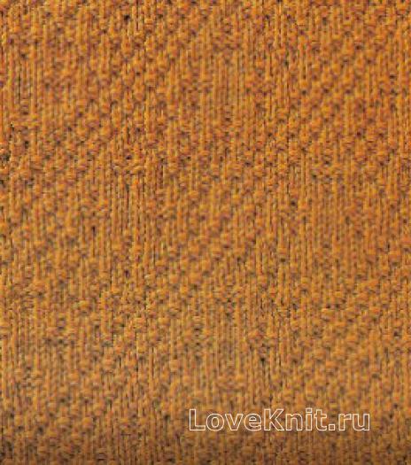 Фото узор рельефный №1691 спицами