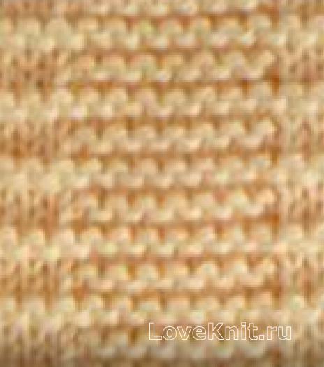 Фото плотный узор №4042 спицами