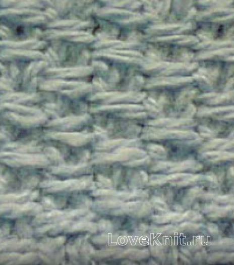 Фото рельефный узор №4056 спицами