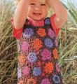 детское платье с цветочным узором фото к описанию