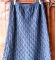 Спицами длинная юбка с ромбами фото к описанию