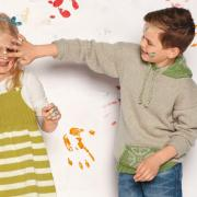Как связать  свитер для мальчика с капюшоном