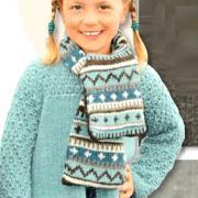 Как связать  жакет с ажурными рукавами для девочки