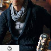 Как связать для мужчин мужской приталенный жакет с шалевым воротником