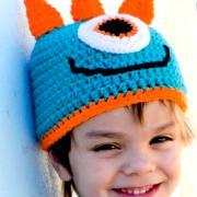 Как связать  цветная шапка для ребенка «дракон»