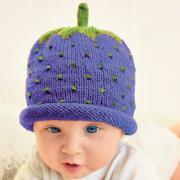 Как связать  детская шапочка в виде ягодка