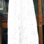 Как связать  детское платье для крещения
