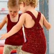 Как связать  шорты для ребенка песочного цвета