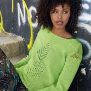 Как связать спицами классический пуловер с ажурным рисунком