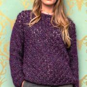 Как связать спицами классический пуловер с ажурным узором