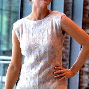 Как связать спицами пуловер с зигзагообразным узором