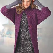 Как связать спицами удлиненный пуловер с рукавом летучая мышь
