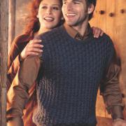 Как связать спицами мужская безрукавка (жилет) с карманами
