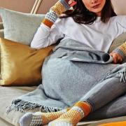 Как связать спицами носки с жаккардовым рисунком