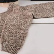 Как связать спицами удлиненный классические носки