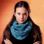 Как связать крючком ажурный шарф-труба