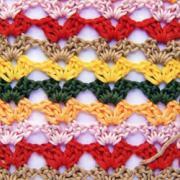 Разноцветный узор